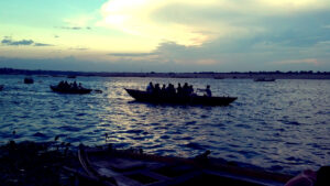 Evening Boat Ride on the Ganges